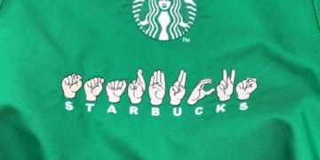 Starbucks in sign language