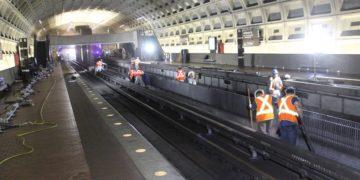 DC Metro inside view.