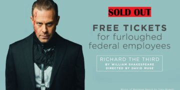 """Shakespeare Theatre Company Presents """"Richard the Third"""" at Sidney Harman Hall From Feb 5 Through March 10"""