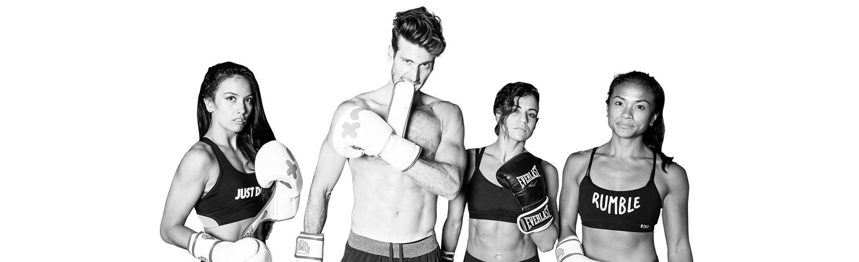 Rumble fitness training
