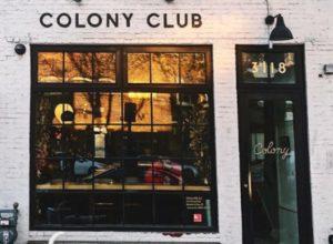 Colony Club outside view.