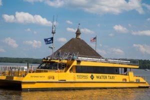 A boat on Potomac river.
