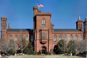 The Smithsonian Building.