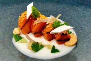 A carrot dish