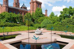 Smithsonian Institution gardens.
