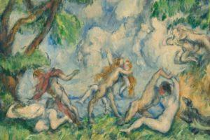 """The Battle of Love"" by Paul Cézanne."