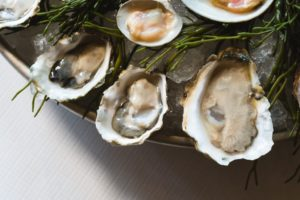 A special seafood dish at Le Diplomate