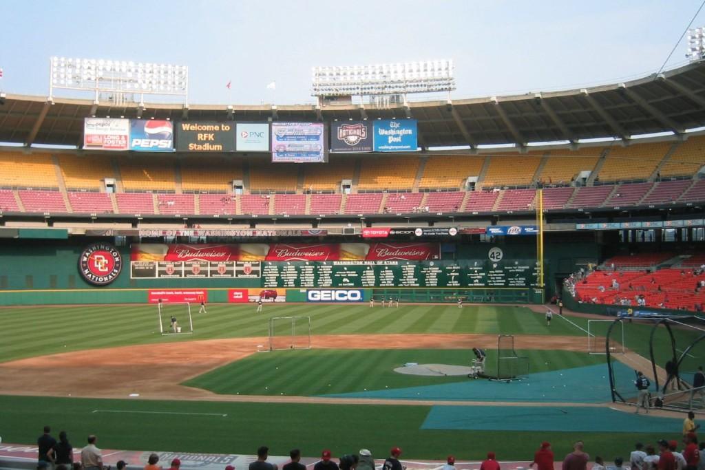 The RFK stadium in Washington, D.C.