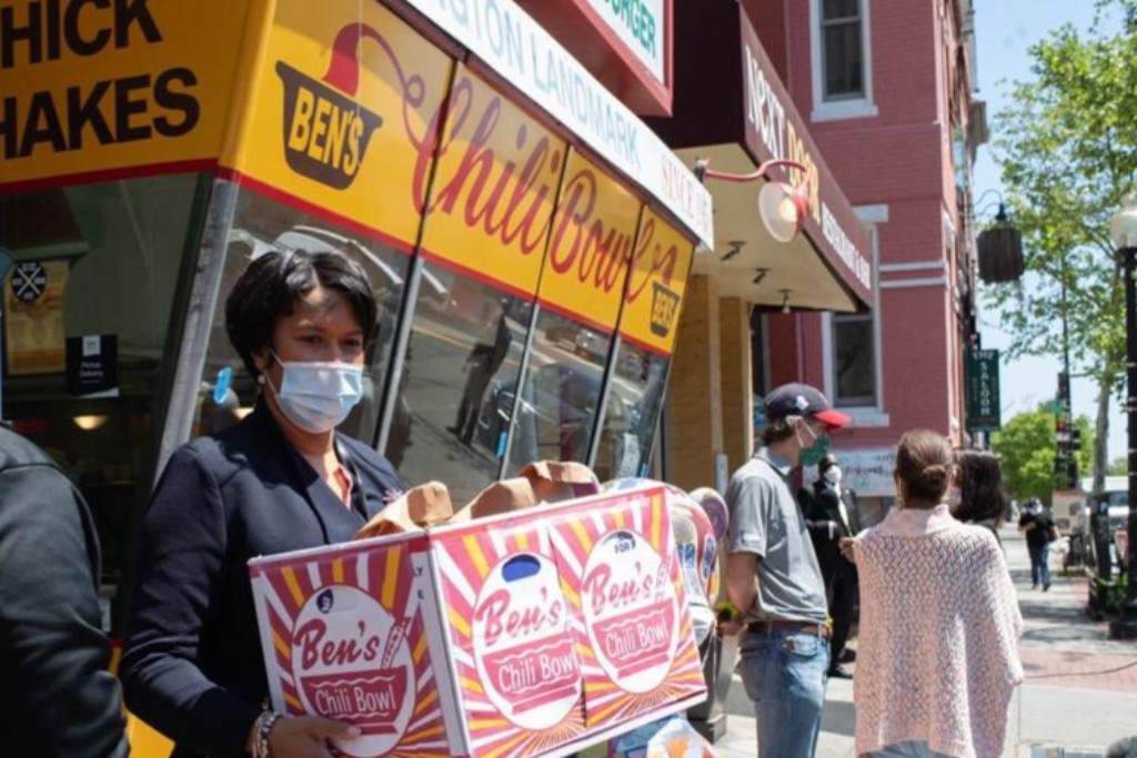 DC Mayor Muriel Bowser was tested for coronavirus for the third time on June 10, 2020.
