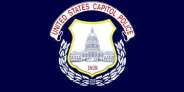 Flag of the United States Capitol Police.