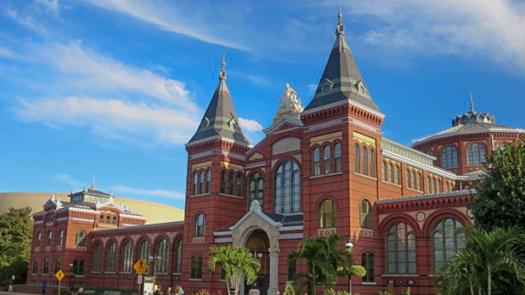 The Smithsonian's Arts and Industries Building closed to the public in 2004.