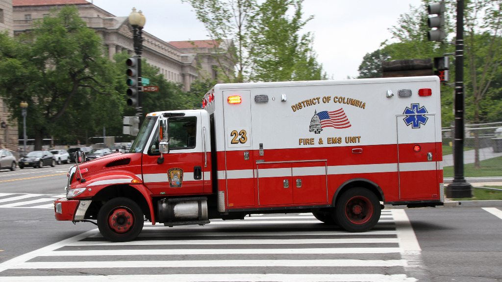 DC Fire and EMS truck