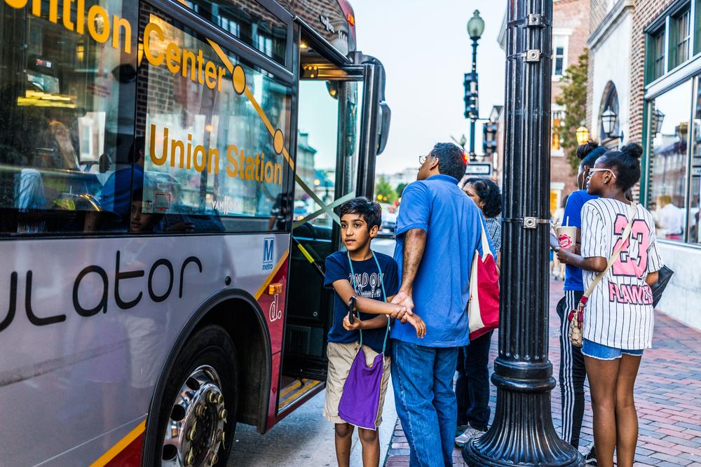 DC Circulator, bus
