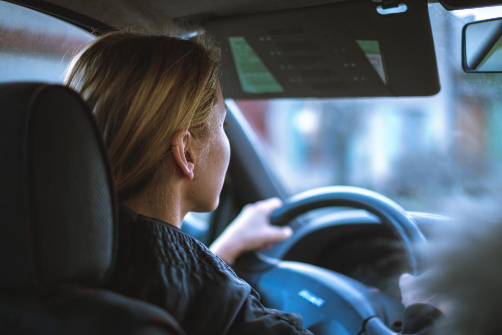 a female driver